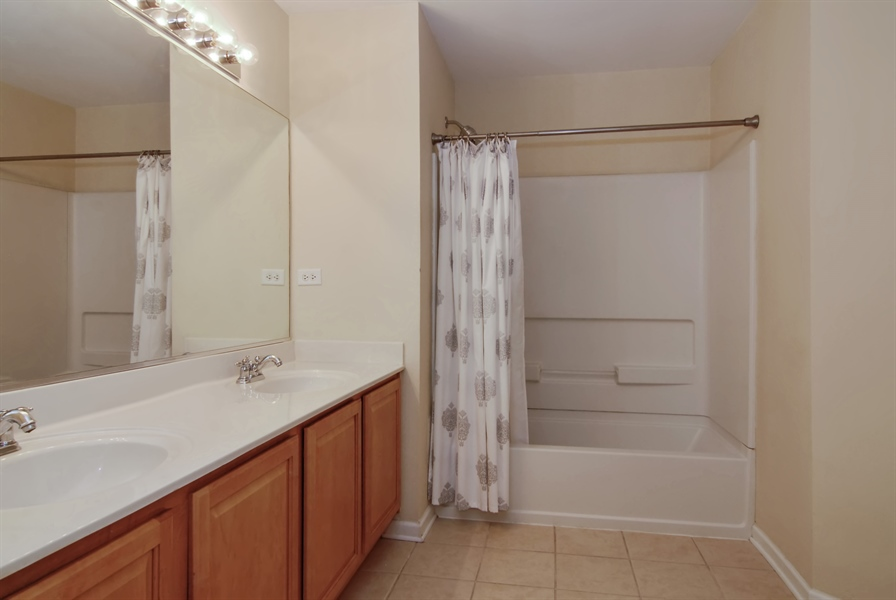 Real Estate Photography - 8210 Claridge Dr, Joliet, IL, 60431 - Master Bathroom