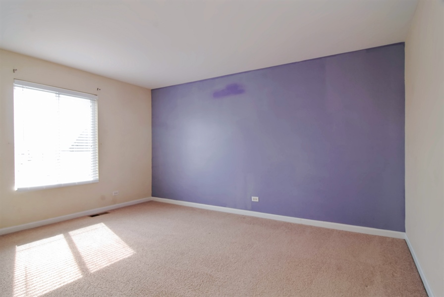 Real Estate Photography - 8210 Claridge Dr, Joliet, IL, 60431 - 2nd Bedroom