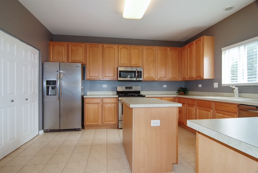 Real Estate Photography - 8210 Claridge Dr, Joliet, IL, 60431 - Kitchen