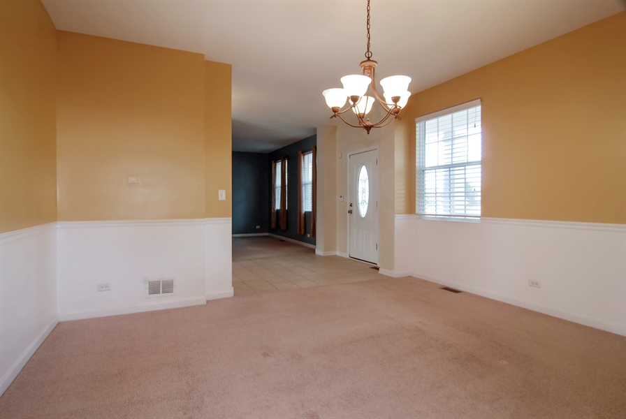 Real Estate Photography - 8210 Claridge Dr, Joliet, IL, 60431 - Dining Room