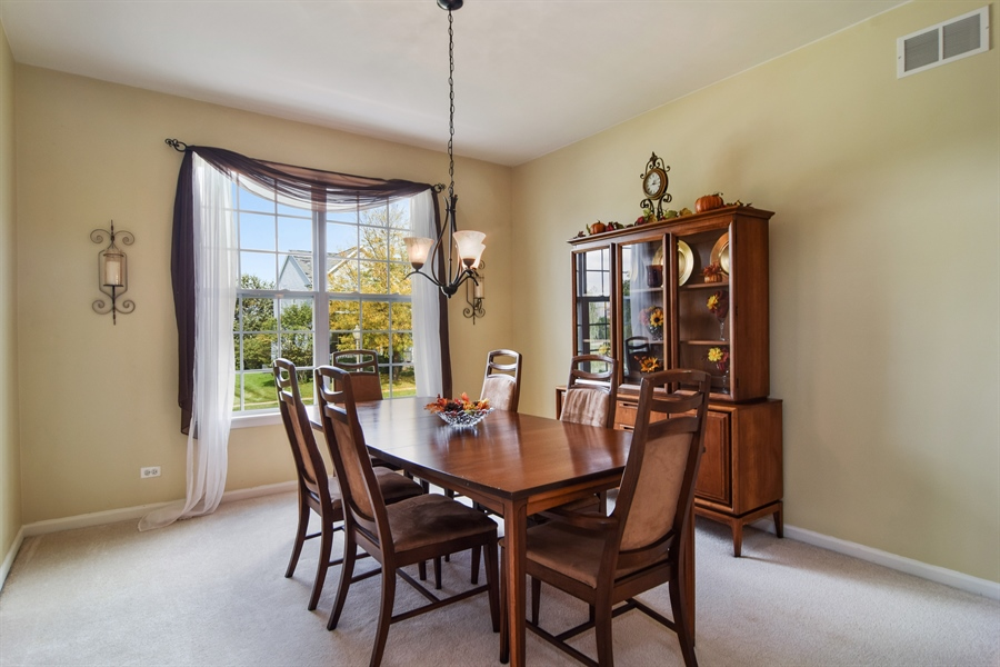 Real Estate Photography - 649 Windett Lane, Geneva, IL, 60134 - Dining Room