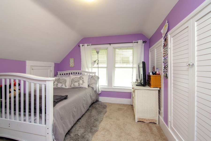 Real Estate Photography - 237 Prairie Avenue, Highwood, IL, 60040 - 3rd Bedroom