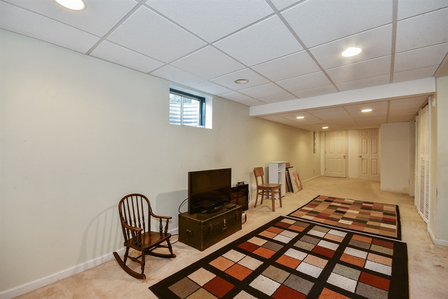 Real Estate Photography - 552 Bradbury Lane, Unit 552, Geneva, IL, 60134 - Basement