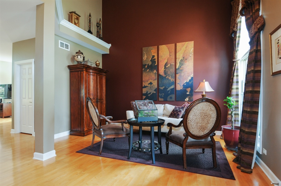 Real Estate Photography - 12027 Winterberry Lane, Plainfield, IL, 60585 - Living Room