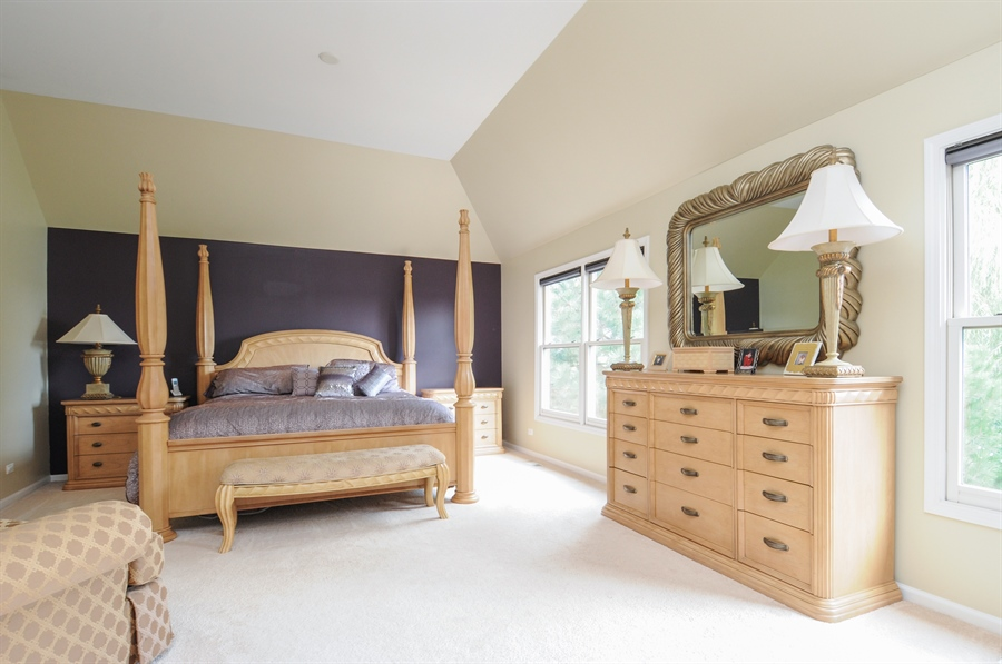 Real Estate Photography - 12027 Winterberry Lane, Plainfield, IL, 60585 - Master Bedroom