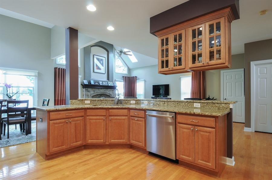 Real Estate Photography - 12027 Winterberry Lane, Plainfield, IL, 60585 - Kitchen