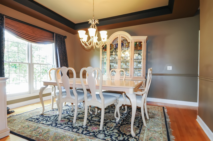Real Estate Photography - 12027 Winterberry Lane, Plainfield, IL, 60585 - Dining Room