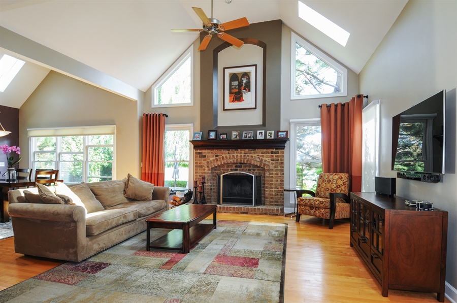 Real Estate Photography - 12027 Winterberry Lane, Plainfield, IL, 60585 - Family Room