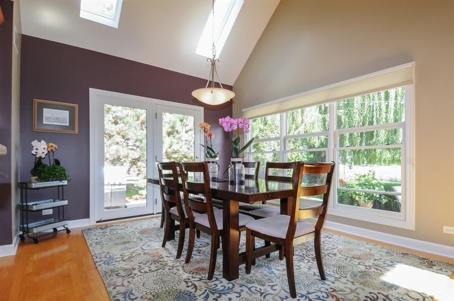 Real Estate Photography - 12027 Winterberry Lane, Plainfield, IL, 60585 - Breakfast Area