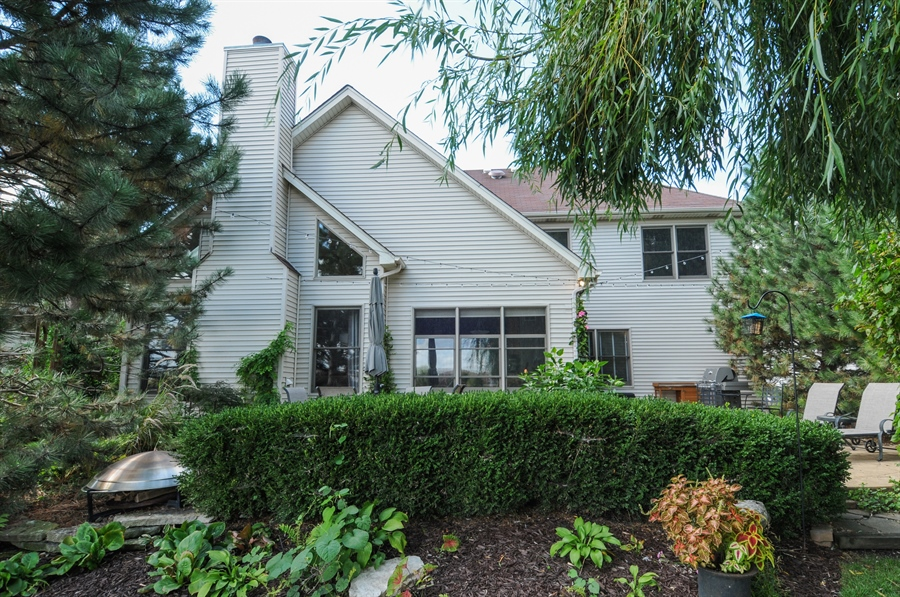 Real Estate Photography - 12027 Winterberry Lane, Plainfield, IL, 60585 - Rear View