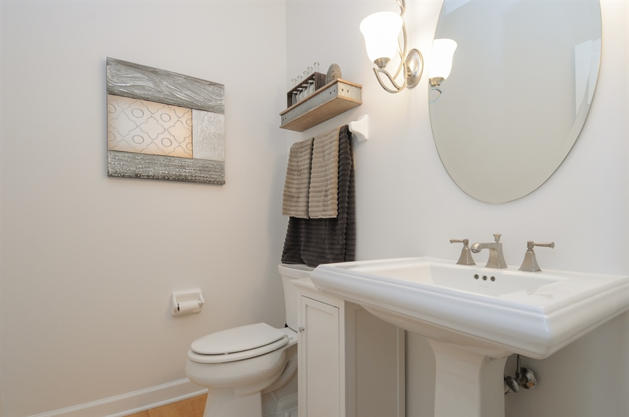 Real Estate Photography - 12027 Winterberry Lane, Plainfield, IL, 60585 - Half Bath