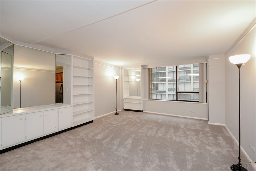Real Estate Photography - 233 E. Erie Street, Unit 1110, Chicago, IL, 60611 - Living Room