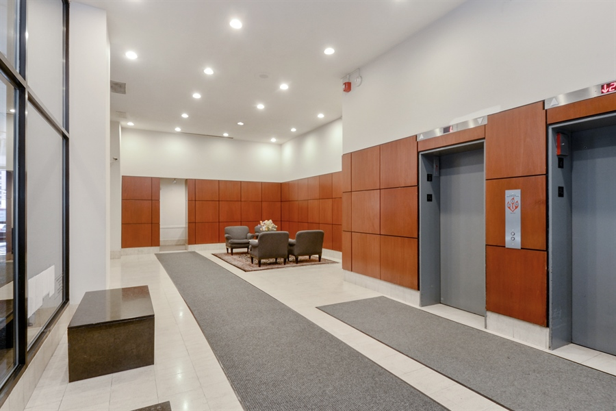 Real Estate Photography - 233 E. Erie Street, Unit 1110, Chicago, IL, 60611 - Lobby