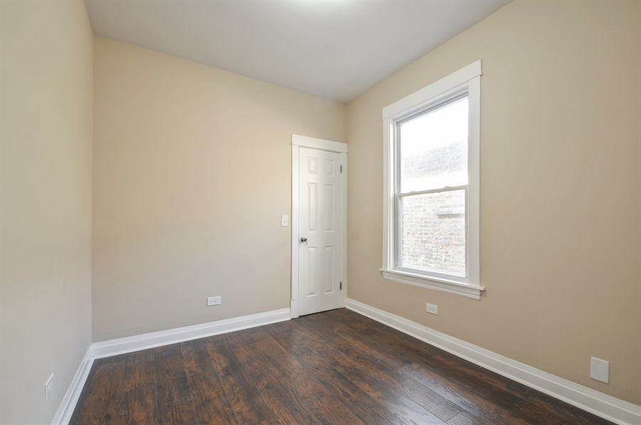 Real Estate Photography - 1515 N. Linder Avenue, Chicago, IL, 60651 - 2nd Bedroom
