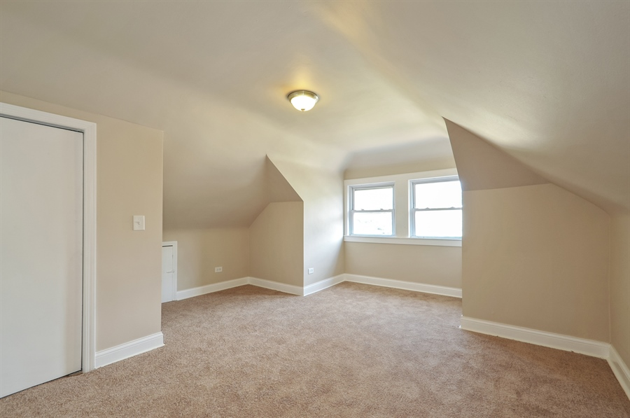 Real Estate Photography - 1515 N. Linder Avenue, Chicago, IL, 60651 - 3rd Bedroom