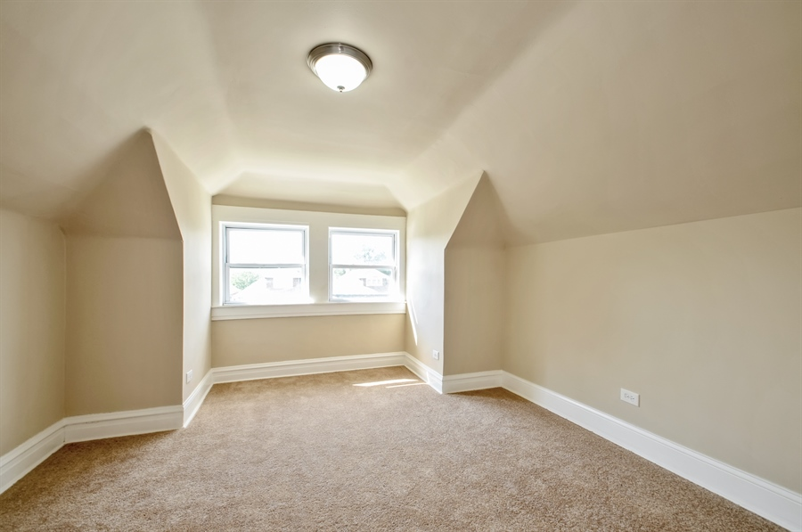 Real Estate Photography - 1515 N. Linder Avenue, Chicago, IL, 60651 - 4th Bedroom