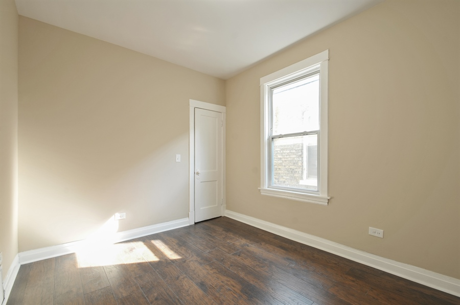 Real Estate Photography - 1515 N. Linder Avenue, Chicago, IL, 60651 - Bedroom