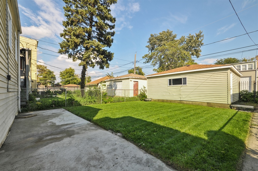 Real Estate Photography - 1515 N. Linder Avenue, Chicago, IL, 60651 - Back Yard
