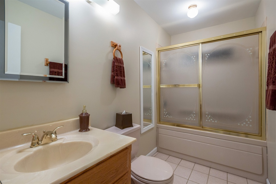 Real Estate Photography - 19937 S. Spruce Drive, Frankfort, IL, 60423 - Master Bathroom