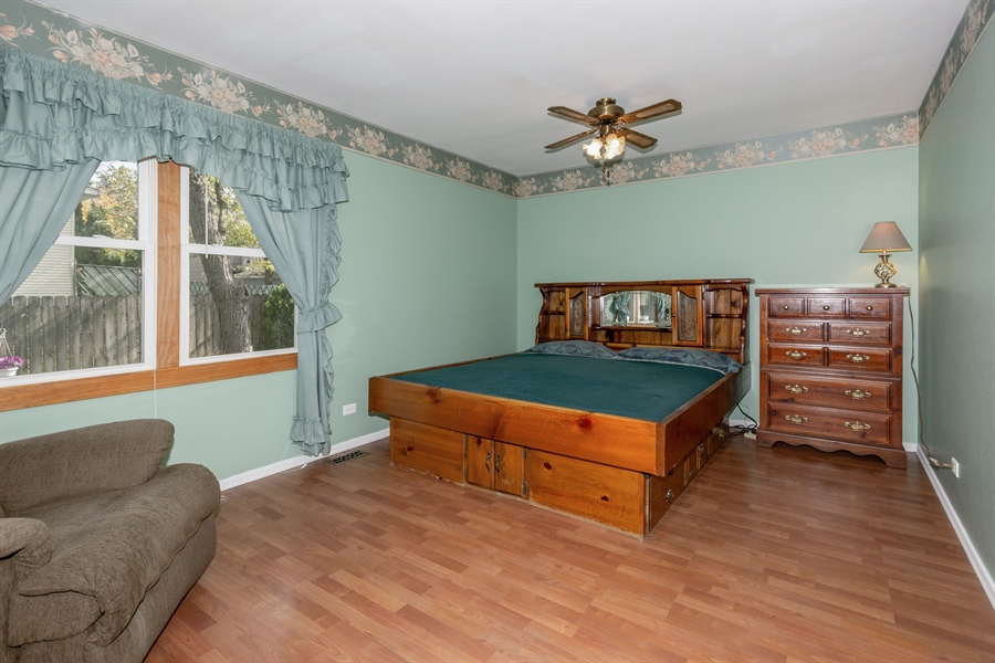 Real Estate Photography - 19937 S. Spruce Drive, Frankfort, IL, 60423 - Master Bedroom