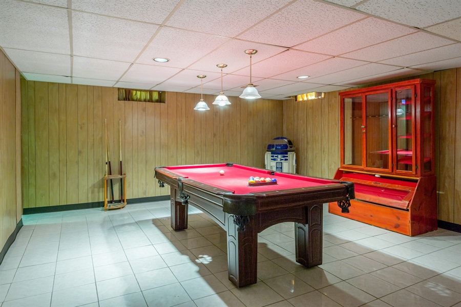 Real Estate Photography - 19937 S. Spruce Drive, Frankfort, IL, 60423 - Basement