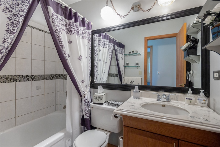 Real Estate Photography - 19937 S. Spruce Drive, Frankfort, IL, 60423 - Bathroom