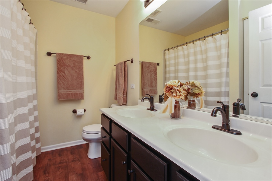 Real Estate Photography - 745 Dillon Court, Grayslake, IL, 60030 - Master Bathroom