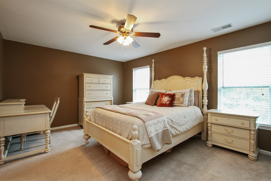 Real Estate Photography - 745 Dillon Court, Grayslake, IL, 60030 - Master Bedroom