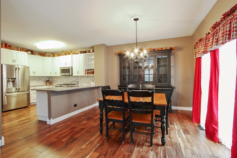 Real Estate Photography - 745 Dillon Court, Grayslake, IL, 60030 - Dining Room