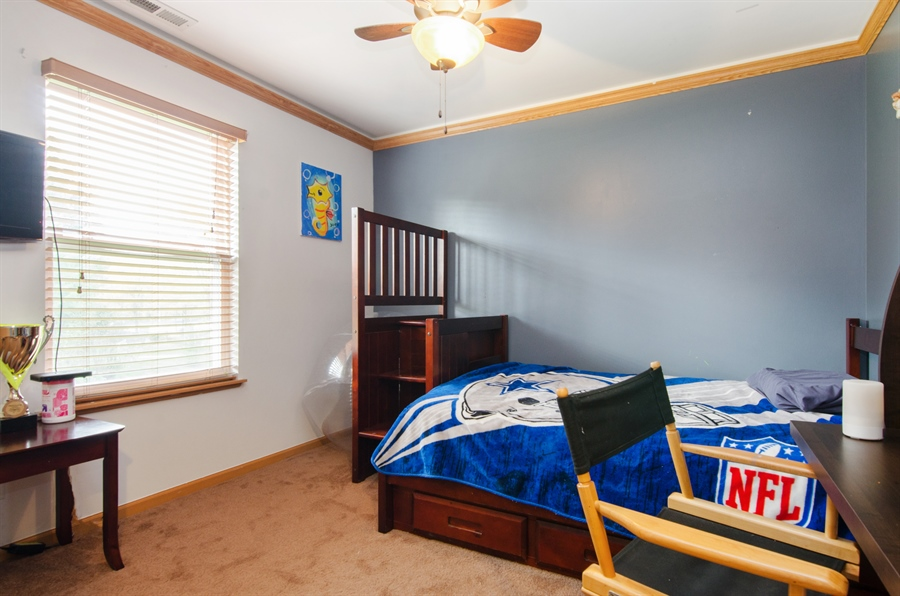 Real Estate Photography - 265 ALPINE Drive, Gilberts, IL, 60136 - 3rd Bedroom