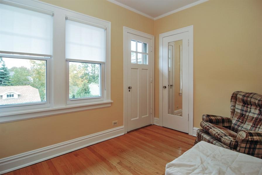 Real Estate Photography - 945 N. Elmwood Avenue, Oak Park, IL, 60302 - 3rd Bedroom Sun Room