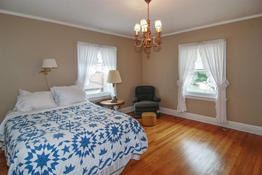 Real Estate Photography - 945 N. Elmwood Avenue, Oak Park, IL, 60302 - Master Bedroom