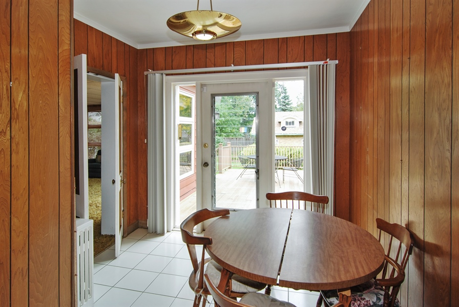 Real Estate Photography - 945 N. Elmwood Avenue, Oak Park, IL, 60302 - Breakfast Room