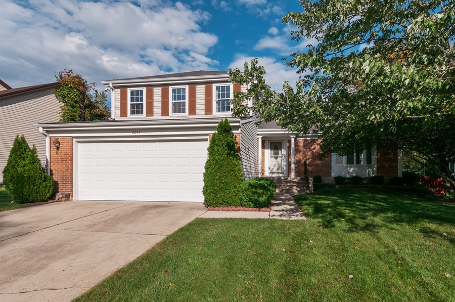 Real Estate Photography - 2287 Albright Lane, Wheaton, IL, 60189 - Front View