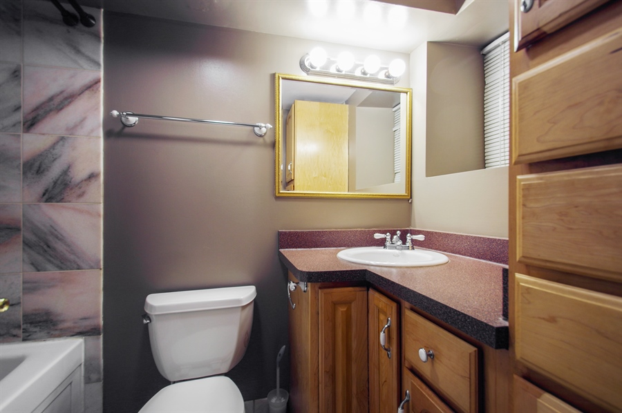 Real Estate Photography - 945 West Agatite Ave, G, Chicago, IL, 60640 - Master Bathroom