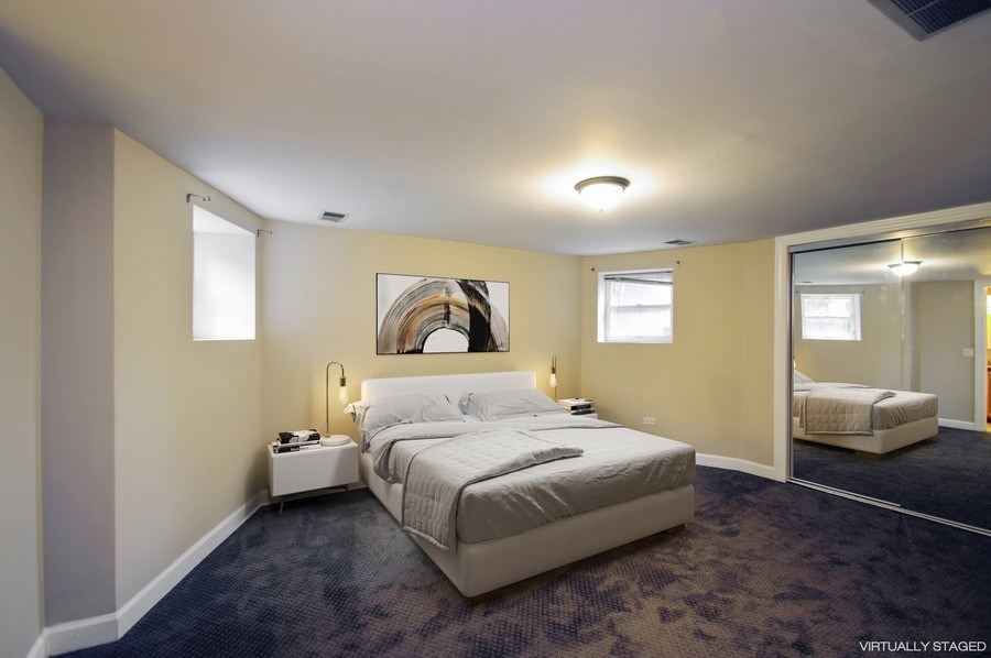 Real Estate Photography - 945 West Agatite Ave, G, Chicago, IL, 60640 - Master Bedroom