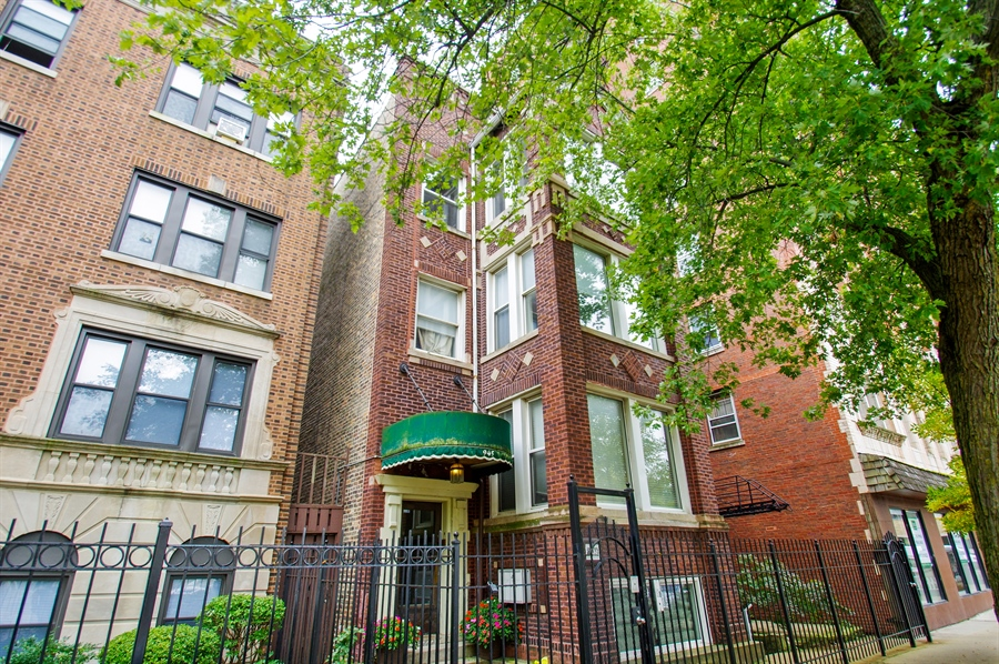 Real Estate Photography - 945 West Agatite Ave, G, Chicago, IL, 60640 - Front View