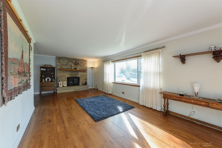 Real Estate Photography - 1204 West Central Rd, Mount Prospect, IL, 60056 - Living Room
