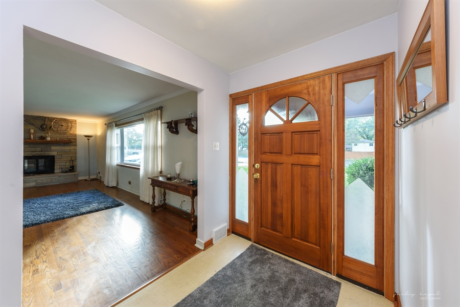 Real Estate Photography - 1204 West Central Rd, Mount Prospect, IL, 60056 - Foyer/Dining Room
