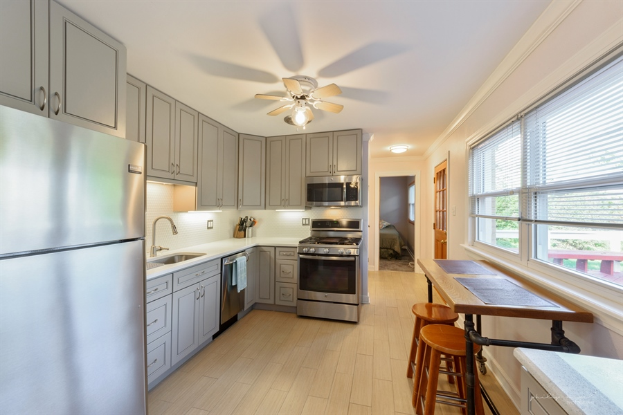 Real Estate Photography - 1204 West Central Rd, Mount Prospect, IL, 60056 - Kitchen