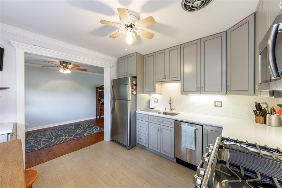 Real Estate Photography - 1204 West Central Rd, Mount Prospect, IL, 60056 - Kitchen / Dining Room