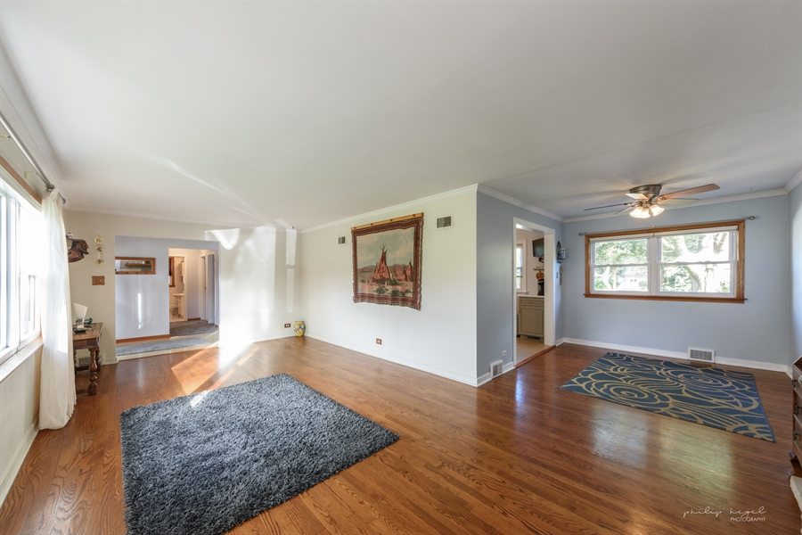 Real Estate Photography - 1204 West Central Rd, Mount Prospect, IL, 60056 - Living Room / Dining Room
