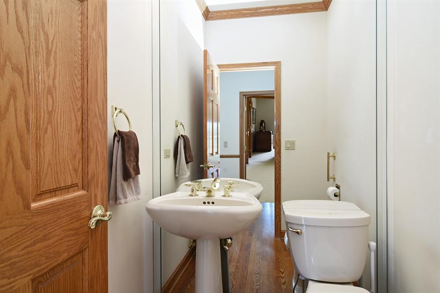 Real Estate Photography - 1521 Pendelton Court, Palatine, IL, 60067 - Half Bath