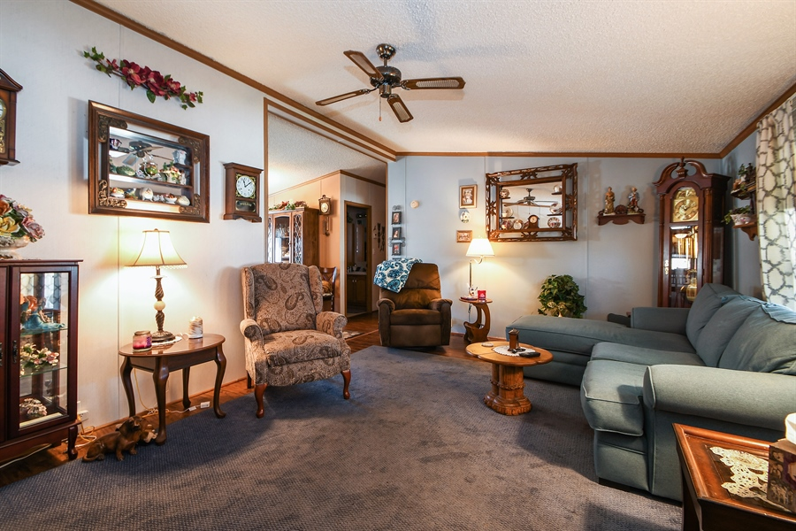 Real Estate Photography - 4848 Augusta Blvd, Monee, IL, 60449 - Living Room