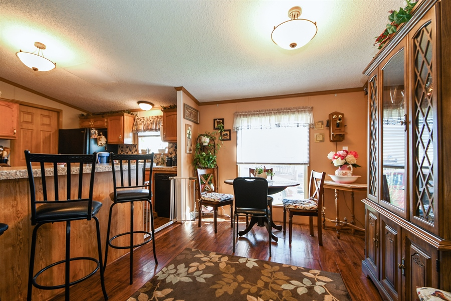 Real Estate Photography - 4848 Augusta Blvd, Monee, IL, 60449 - Dining Room