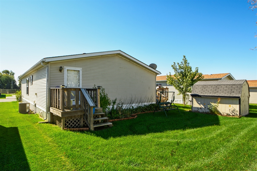 Real Estate Photography - 4848 Augusta Blvd, Monee, IL, 60449 - Back Yard