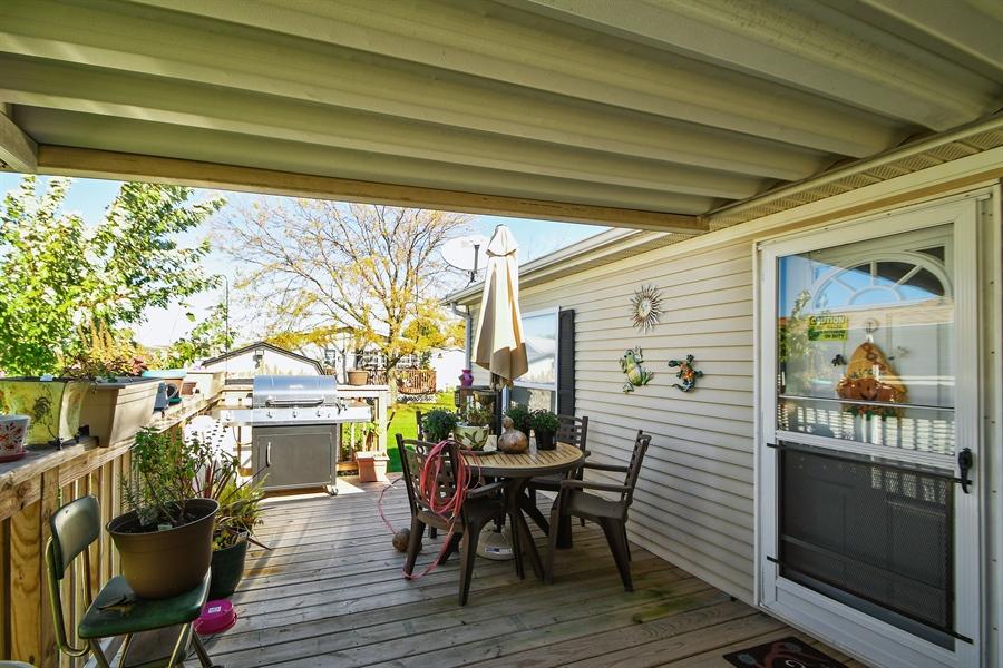 Real Estate Photography - 4848 Augusta Blvd, Monee, IL, 60449 - Deck