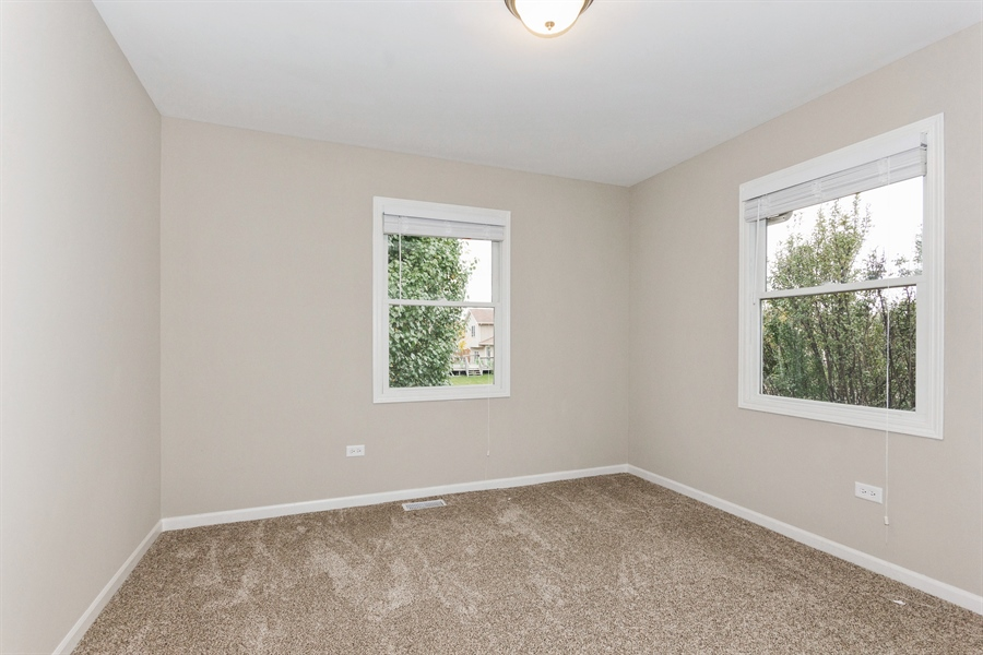 Real Estate Photography - 2114 Lolo Pass Drive, Plainfield, IL, 60586 - 3rd Bedroom