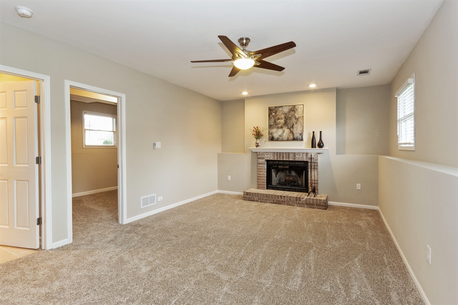 Real Estate Photography - 2114 Lolo Pass Drive, Plainfield, IL, 60586 - Lower Level