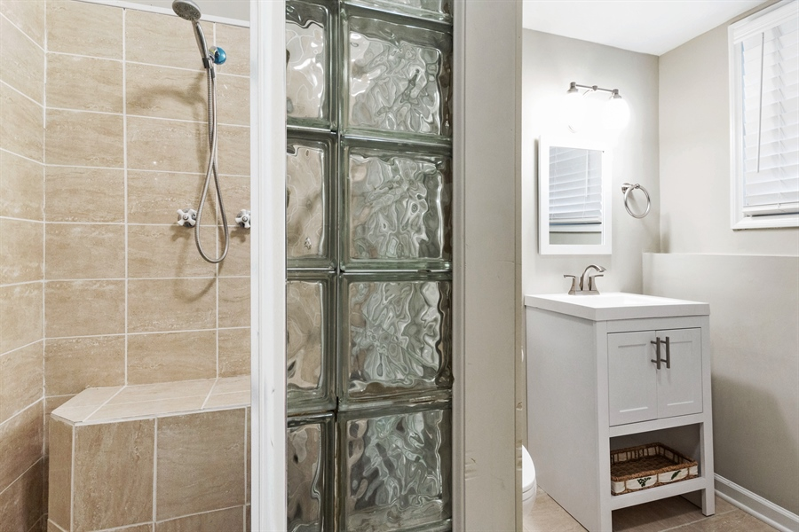 Real Estate Photography - 2114 Lolo Pass Drive, Plainfield, IL, 60586 - Bathroom